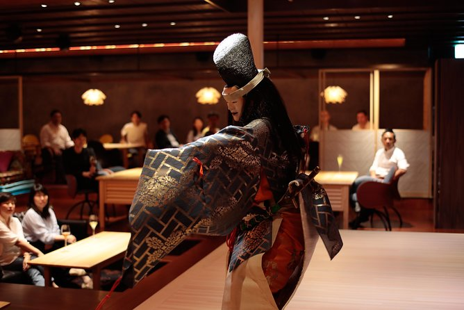 """[1 drink service] Bar-type admission ticket to the theater-style restaurant and lounge """"Suigien"""" where you can see traditional Japanese performing arts up close"""