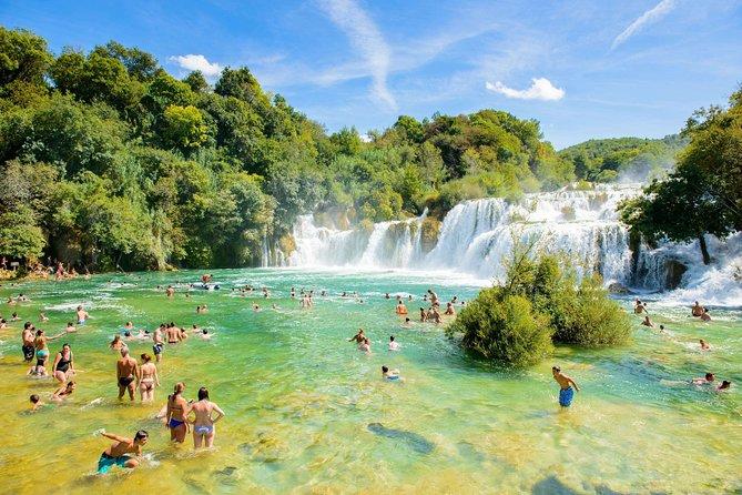Krka waterfalls excursion from Biograd na moru