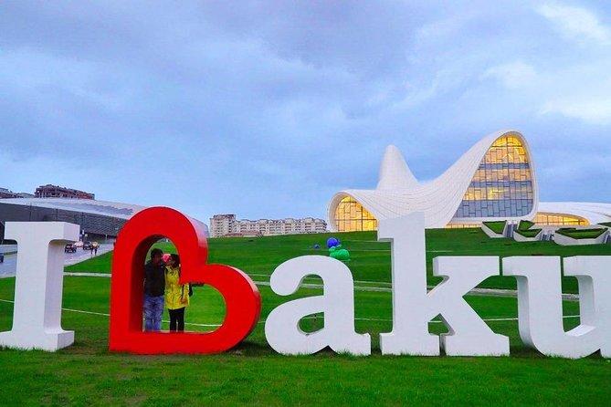 Baku and surroundings