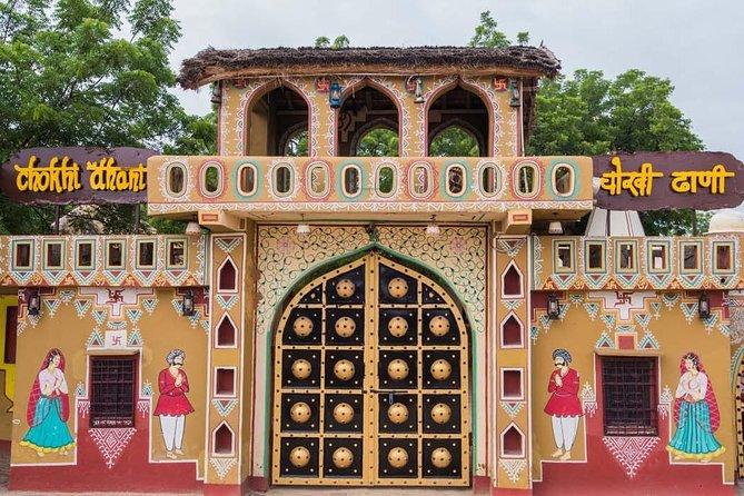 Half-Day City Tour of Chokhi Dhani Ethnic Village from Jaipur