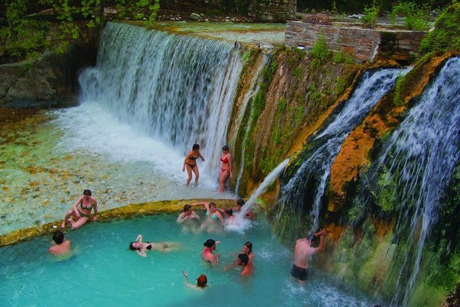 Private tour:Full day Pozar Baths & Edessa Waterfalls (Departure from Halkidiki)