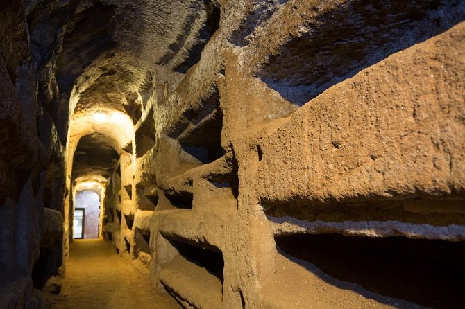 Exclusive Appian Catacombs Tour and Rome Open Bus Ticket