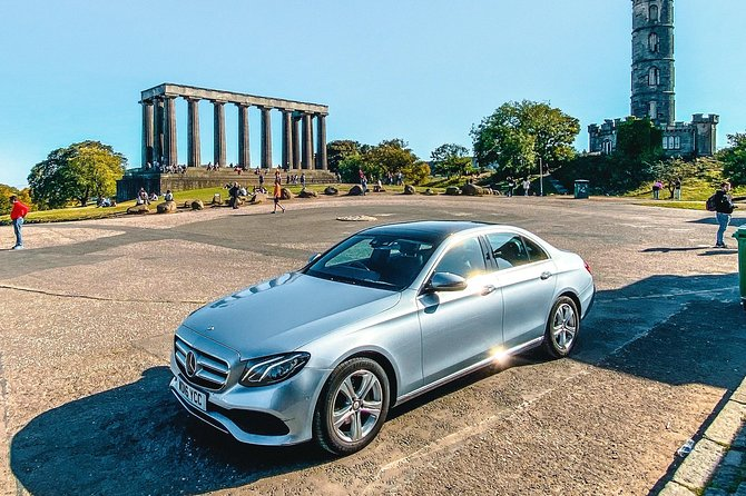 Edinburgh Private Premium Driving Tour With Chauffeur