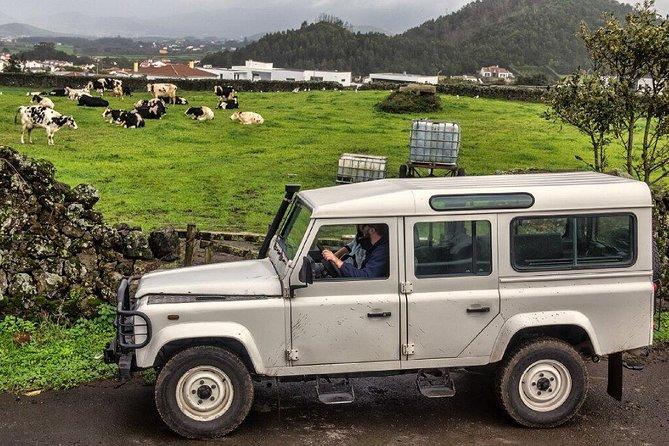 Jeep tour to Sete Cidades and Fogo Lake