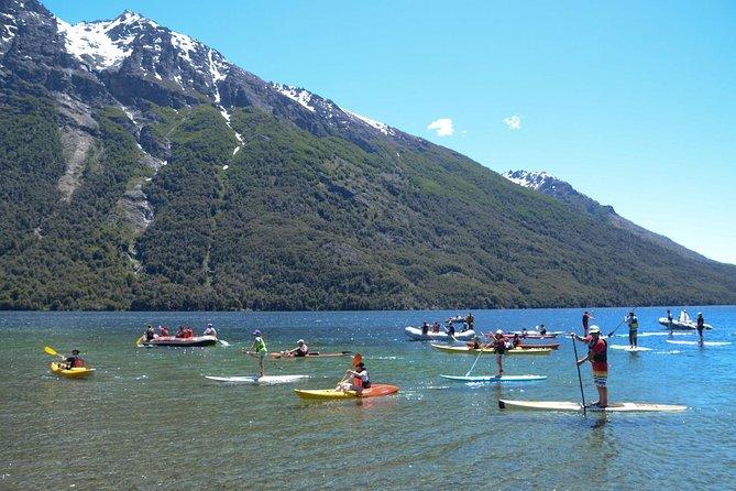 Caiaque no lago Gutiérrez de Bariloche
