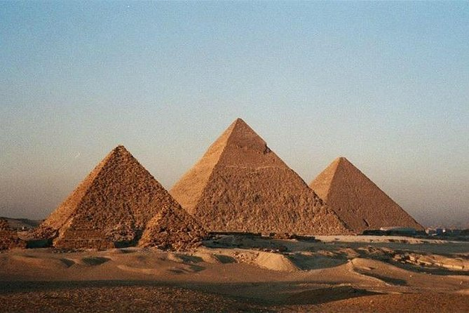 Cairo: Pyramids, Sphinx and Cairo Museum Tour with River Nile Felucca Ride