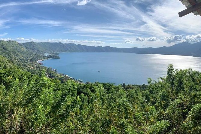 El Boqueron Volcano + Coatepeque Volcanic Lake