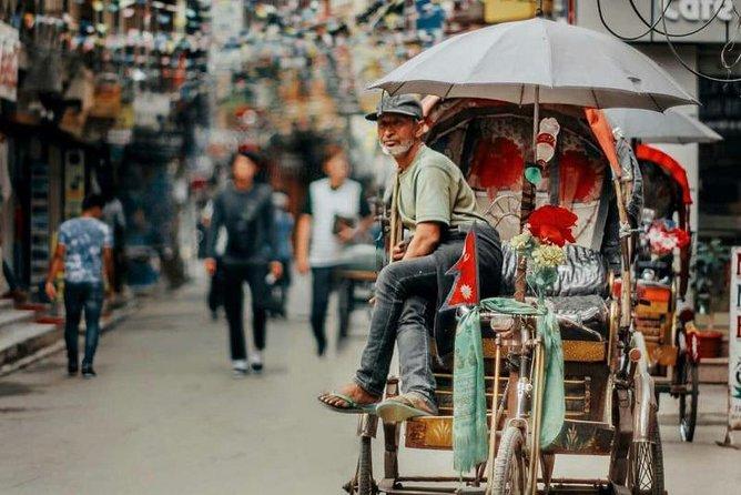 Kathmandu Rickshaw Tour : Explore Thamel and Kathmandu Durbar Square