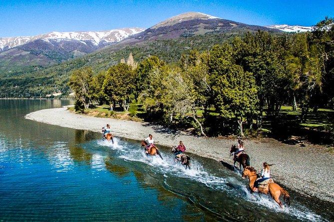 Caiaque no lago Gutiérrez e passeios a cavalo a partir de Bariloche
