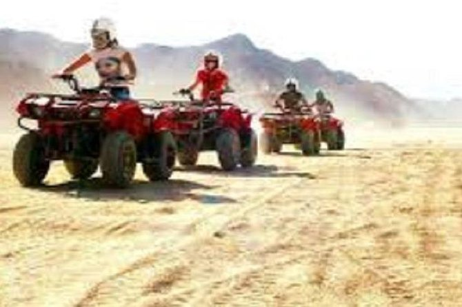 Hurghada: Quad Bike Safari, Bedouin Village & BBQ Feast