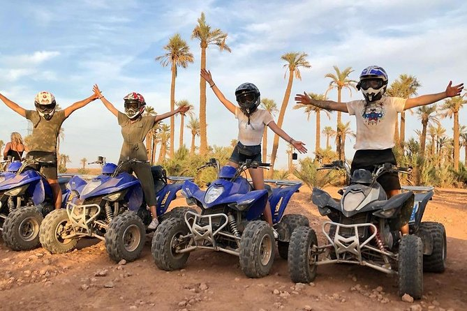 Half Day Quad Biking Tour In Palmeraie