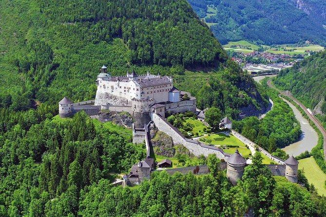Eagle's Nest and 'The Where Eagles Dare Castle' of Werfen