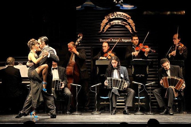 Entrance Ticket to La Ventana Tango Show with Optional Dinner