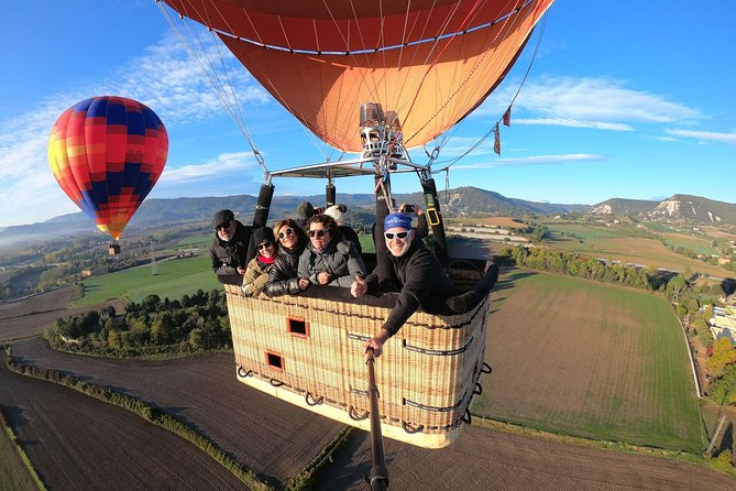 Hot Air Balloon with Breakfast in Restaurant from Barcelona