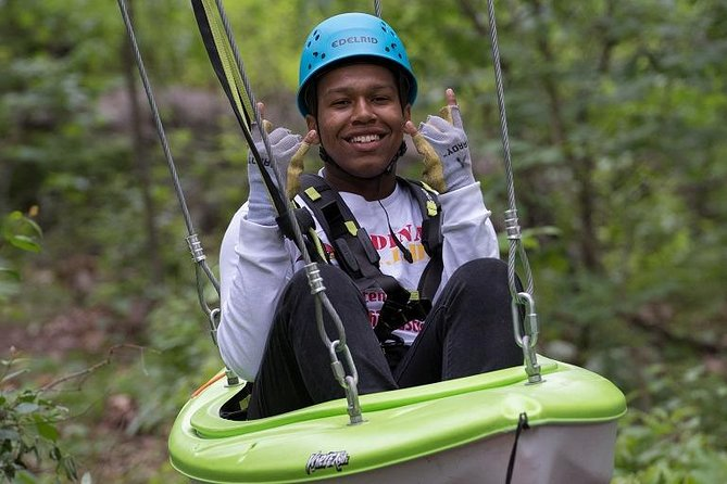 Treetop Adventure Combo Climb and Zipline