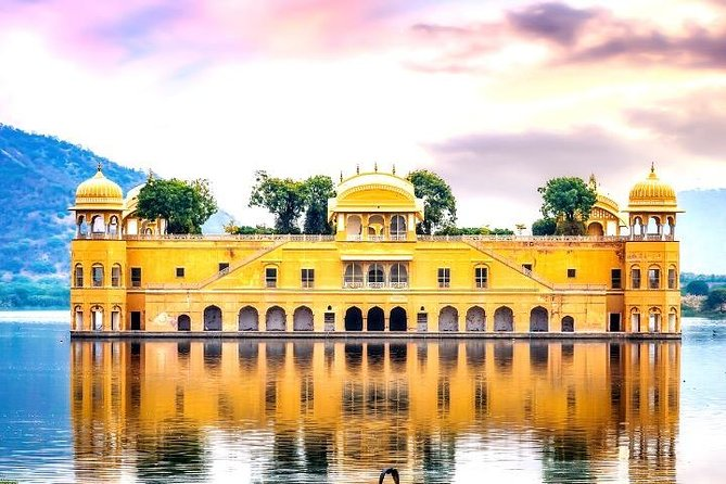 The guided tour of Jaipur's Rose City