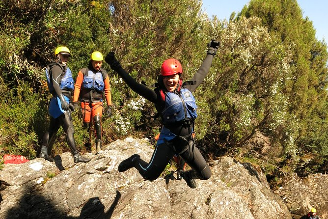 Hike and Canyoning Cradle Mt Adventure package from Launceston