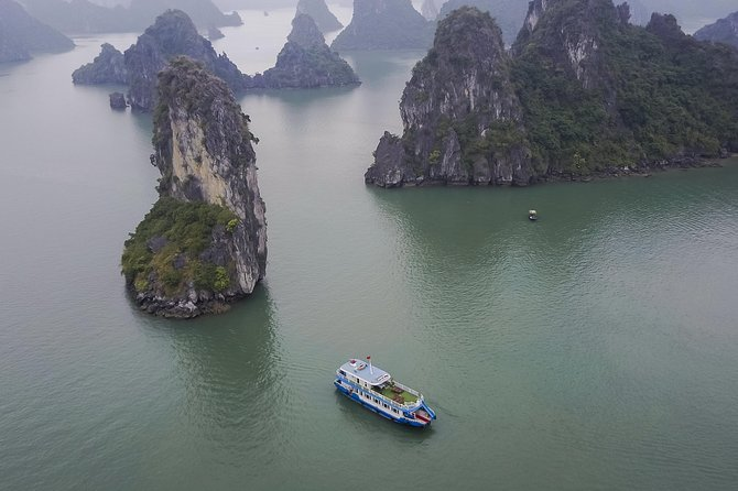 Lan Ha and Halong bay full day with Wonders Cruise