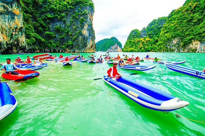 Phang Nga Bay By Canoeing With Big Boat