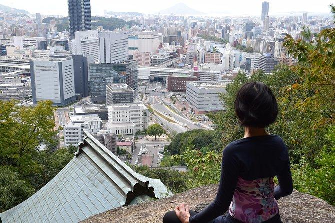 Mt. Futaba mountain walk and luck power spot yoga experience