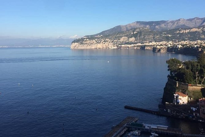 Transfer from the Amalfi Coast to Rome