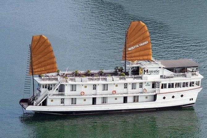 Majestic Legend Cruise 4 Star - Ha Long Bay 2 Days 1 night