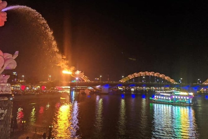 Dragon Bridge Fire & Water Show – Marble Mountains & Lady Buddha Statue