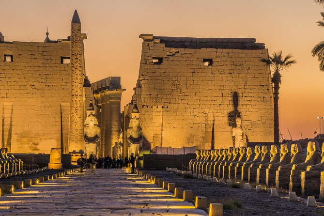 Luxor East and West Banks include professional guide