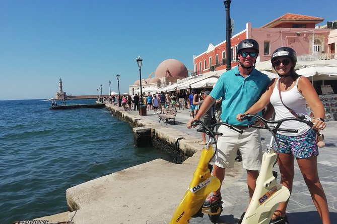 Trikke and Discover Cretan Art from Chania