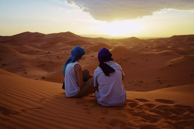Merzouga Dunes & Ait Ben Haddou: 3-Day Guided Private Tour from Marrakesh