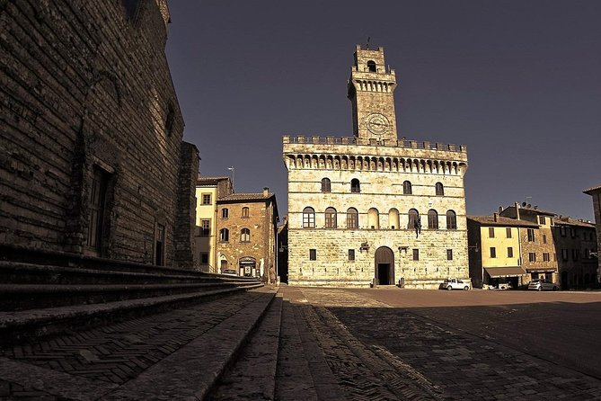 Montepulciano Guided Walking Tour including Nobile Wine Tasting