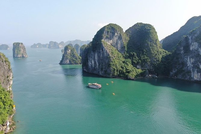 Halong bay Cruise Day Trip: Kayaking, swimming at pristine places - best selling
