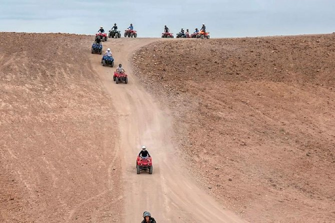 Quad Biking Tour in Agafay Desert & Lake Takerkoust from Marrakech