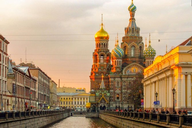 Tour to Peter and Paul Fortress and Spilled Blood Church