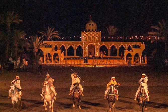 Dinner and Fantasia show in Marrakech