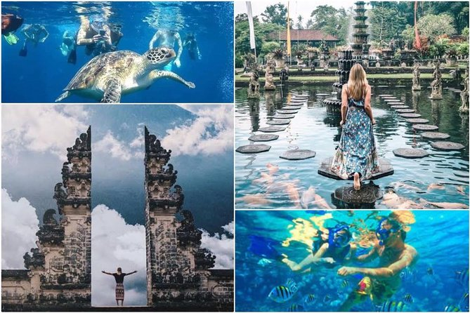 All Inclusive : Lempuyang Temple - Blue Lagoon Snorkeling and Tirta Gangga