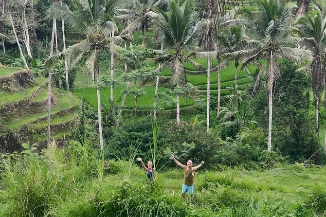 Bali Secret Cycling Tour Above Ubud, Jungle-Swing, Waterfall and Temple photo 7