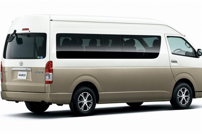 Yokohama INT Passenger Terminal transfer Toyota Hiace Extended version 9 seats photo 1