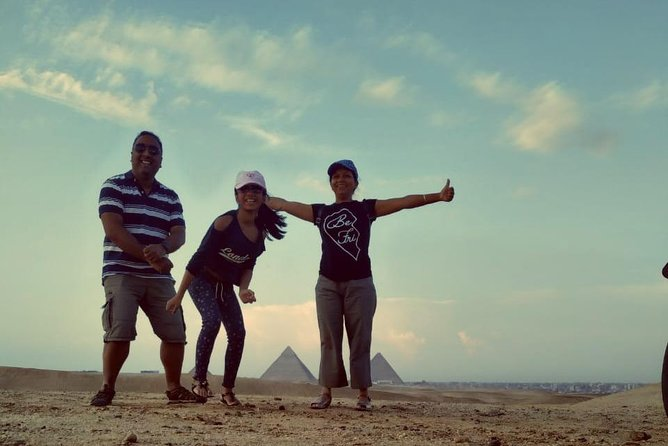 Private Day Tour at the Pyramids from Cairo International Airport