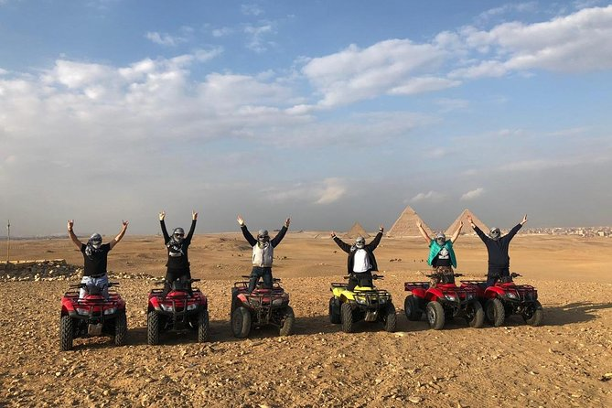 Private day Tour to Pyramids of Giza, Sphinx& Quad Bike including Lunch