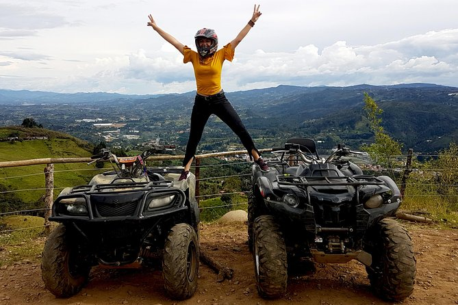 3 Element Tour - ATV 2hr + PARAGLIDING + RAFTING 3hr from MEDELLIN