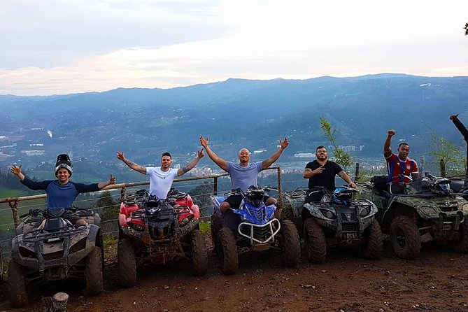 Stunning ATV 1.5hr + fun RAFTING 3hr from MEDELLIN