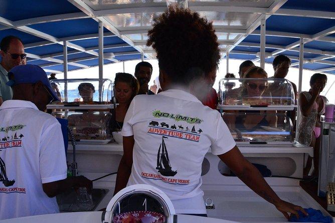 Lounge Catamaran SODADE Half-Day
