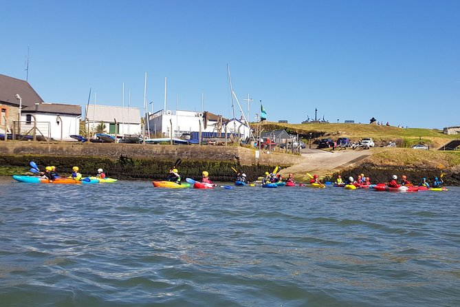 The start of our Wicklow Harbour Kayak Tours