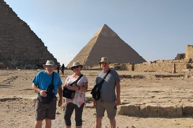 Pyramids of Giza and Great Sphinx: Private Half-Day Tour with 30 Mins Camel Ride