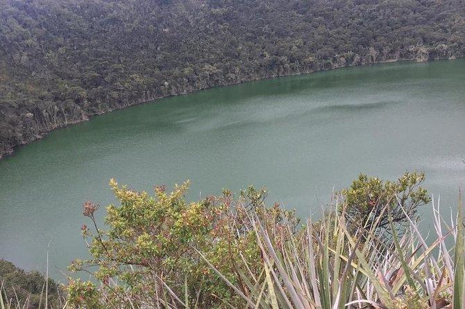 Excursão compartilhada à Laguna de Guatavita e à Catedral de Sal de Zipaquirá