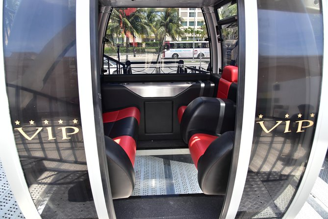 Panoramic Tour in VIP Cabin, Price per Cabin (maximum 5 People)