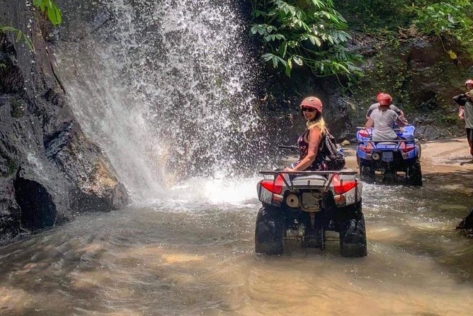 Bali ATV Ride With Tunnel, Waterfall, Rice field, Jungle Track