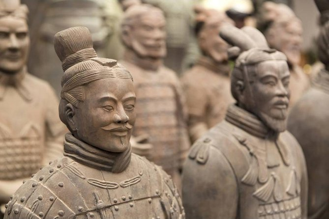 1 day The Terracotta Army+Xi'an City Wall+Yongxing Square Mini Group Tour