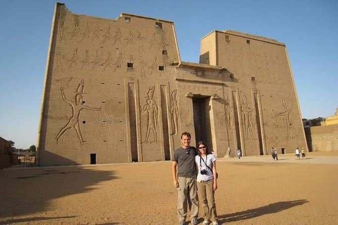 Private full day tour Edfu temple,Kom Ombo temple and Aswan City